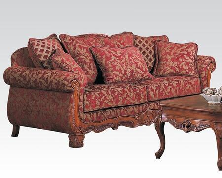 Acme Furniture 05615 Georgian Series Stationary Fabric Sofa