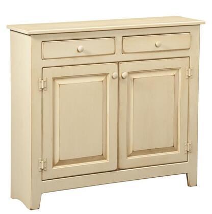 Chelsea Home Furniture 465006 Hannah Series Freestanding Wood 2 Drawers Cabinet