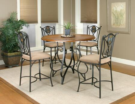 Sunset Trading CR-W2597-5PC Vail Dining Bar Table Sets