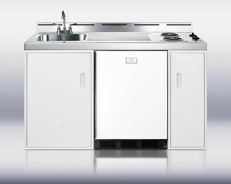 Summit C60APSW Compact Kitchens