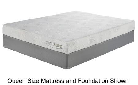 Sierra Sleep M97141M81X42 7 Inch Gel Memory Foam King Mattre