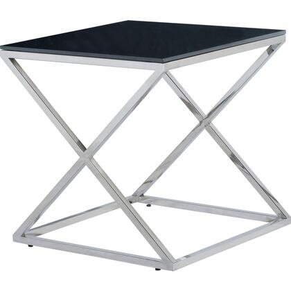 Allan Copley Designs 2080402BL Excel Series Contemporary Square End Table