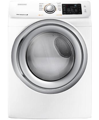 """Samsung DV42H5200GW 27"""" 7.5 cu. ft. Gas Dryer, in White"""