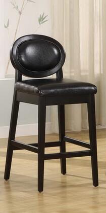 Armen Living LC7015BABL30 Residential Leather Upholstered Bar Stool