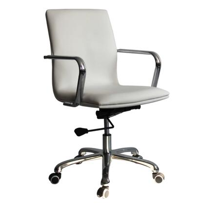 Fine Mod Imports FMI10170 Confreto Conference Office Chair Mid Back