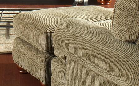 Jackson Furniture 429310 Contemporary Fabric: Chenille Ottoman
