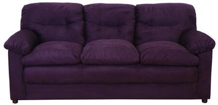 Chelsea Home Furniture 6300SBE  Stationary Polyblend Sofa