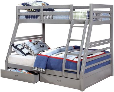 Furniture of America CMBK588GYBED California III Series  Bed