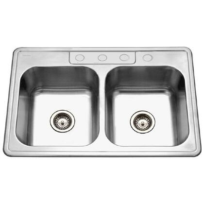 Houzer 33227BS41 Kitchen Sink