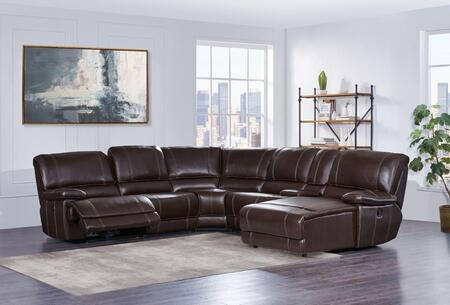 Global Furniture Usa U1953sectionalx 6 Piece Sectional Sofa With