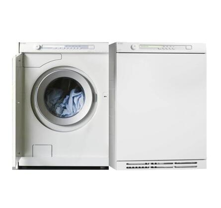 Asko W6884WECOPAIR1 UltraCare Line Washer and Dryer Combos