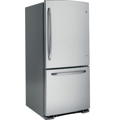 GE GDSL0KCXLS  Bottom Freezer Refrigerator with 20.2 cu. ft. Total Capacity 6.2 cu. ft. Freezer Capacity 4 Glass Shelves  |Appliances Connection