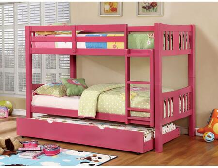 Furniture of America CMBK929PKBEDT Cameron Twin Bedroom Sets