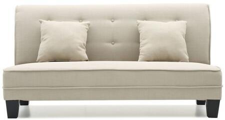 Glory Furniture G403S Newbury Series Fabric Stationary Loveseat
