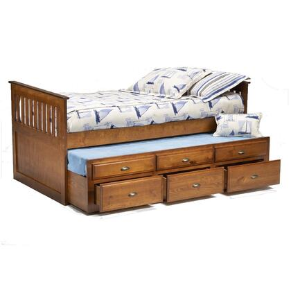 Bernards 3650TRV  Twin Size Captains Bed