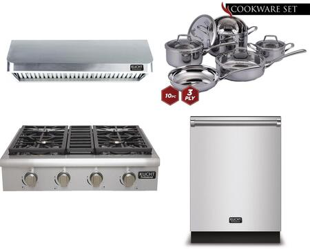 Kucht 810587 Professional Kitchen Appliance Packages