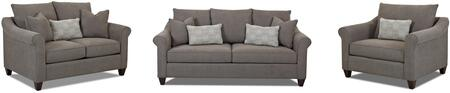 Klaussner K30300KL3PCSTLARMKIT1 Diego Living Room Sets