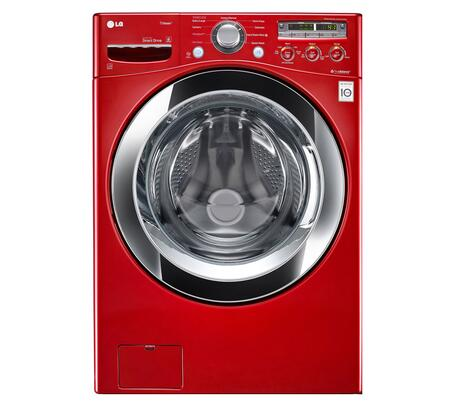 LG WM3250HRA  4.0 cu. ft. Front Load Washer, in Wild Cherry Red