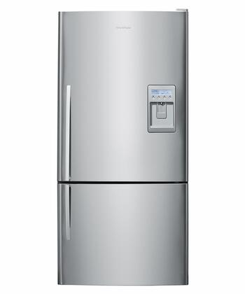 Fisher Paykel E522BLXU2xx  Stainless Steel Bottom Freezer Refrigerator with 17.6 cu. ft. Capacity