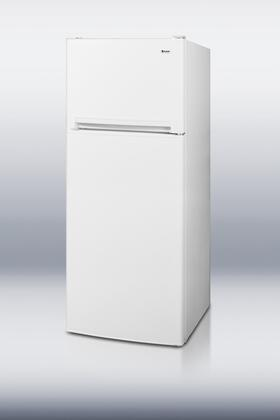 Summit FF1074  Freestanding Top Freezer Refrigerator with 10.0 cu. ft. Total Capacity 3 Wire Shelves