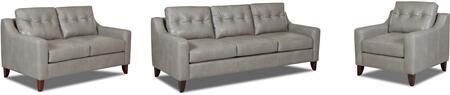 Klaussner LTD31600KL3PCSTLARMKIT1P Audrina Living Room Sets