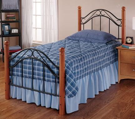Hillsdale Furniture 164BTW Winsloh Series  Twin Size Poster Bed