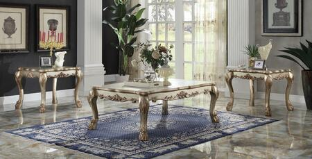 Acme Furniture 83160C2E Dresden Living Room Table Sets