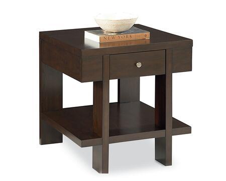 Lane Furniture 1400124 Perfect Fit Series Modern Rectangular End Table