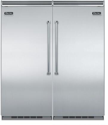 Viking 735613 5 Side-By-Side Refrigerators