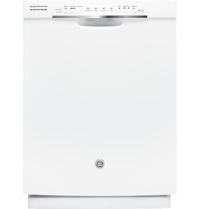 """GE GDF570SGFWW 24"""" Built In Full Console Dishwasher"""