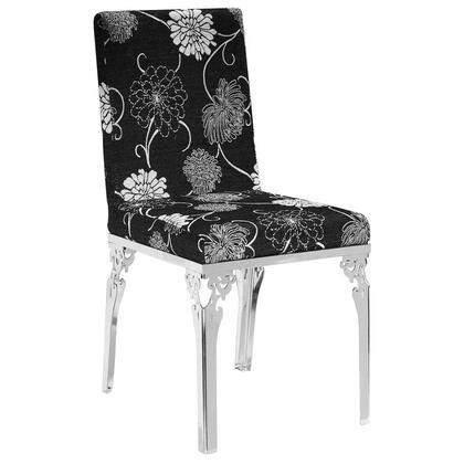 VIG Furniture VGLEFY109 Modern Fabric Metal Frame Dining Room Chair