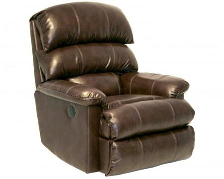 Catnapper 44184121409301409 Templeton Series Transitional Bonded Leather Metal Frame  Recliners