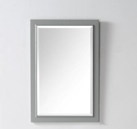 "Legion Furniture WH7724Y 24"" Mirror with Rectangular Shape, Portrait Mirror and Contemporary Style"