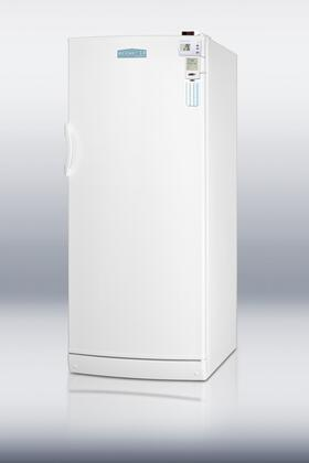 Summit FFAR10FC7MEDSC AccuCold Series Compact Refrigerator with 10.1 cu. ft. Capacity in White