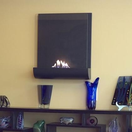 Nu-Flame NFW2VAA Wall Mountable Bioethanol Fireplace
