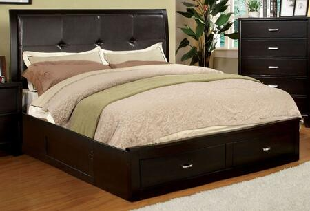 Furniture of America CM7066EXCKBED Enrico III Series  California King Size Bed