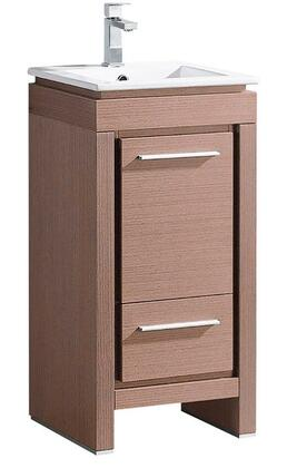 "Fresca FCB8118XXX Allier 16"" Modern Bathroom Cabinet w/ Sink in"