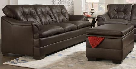 Simmons Upholstery 512203297APOLLOESPRESSO Apollo Living Roo