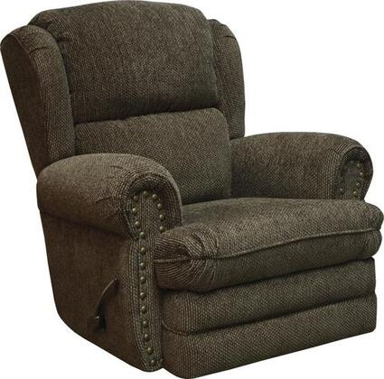 """Jackson Furniture Braddock Collection 4238-11- 40"""" Rocker Recliner with Rolled Arms, Nail Head Accents and Reversible Seat Cushions in"""