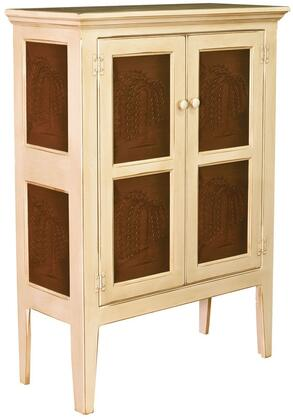 Chelsea Home Furniture 465008BT Jeremiah Series Freestanding Wood None Drawers Cabinet