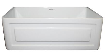 Whitehaus WHFLRPL3018BI Kitchen Sink