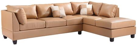 Glory Furniture G641BSC G640 Series Sofa and Chaise Bycast Leather Sofa