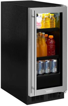 """Marvel ML15BCT 15"""" Marvel Beverage Center with Dynamic Cooling Technology, Thermal Efficient Cabinet, 2.7 cu. ft. Capacity, and Vacation Mode, in"""