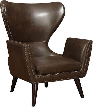 Coaster 902089 Accent Seating Series Armchair Wood Frame Accent Chair