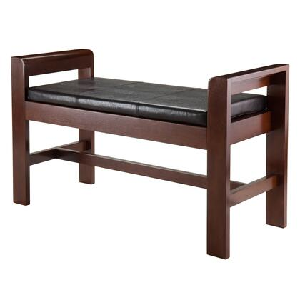 Winsome 94X4X Thomas Bench with Armrest