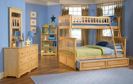 Atlantic Furniture COLTFNM  Twin Size Bed