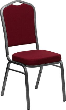 Flash Furniture FDC01SILVERVEIN3169GG Contemporary Fabric Metal Frame Dining Room Chair