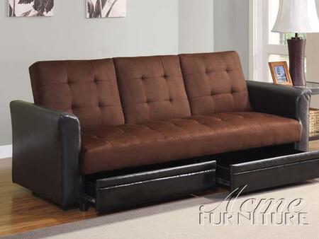 Acme Furniture 15290 Kay Series  Faux Leather Sofa