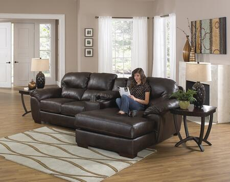 "Jackson Furniture Lawson Collection 4243-46-88-76- 118"" 3-Piece Sectional with Left Arm Facing Loveseat, Console with Entertainment and Right Arm Facing Chaise in"