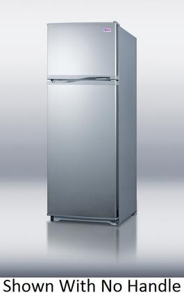 Summit FF1062SLVCH  Refrigerator with 9.41 cu. ft. Capacity in Platinum